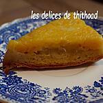recette gâteau renversé à l'ananas et mangue