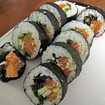 recette maki au saumon