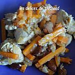 recette poulet aigre douce aux amandes