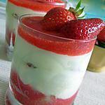 recette Verrines fraises-mascarpone, vite faites et délicieuses