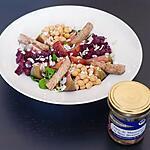 recette Salade aux légumes de saisons et maquereau à la bière bio bretonne