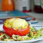 recette Tomate farcie de chef club, végétarien