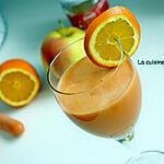 recette Jus de pomme, carotte, orange et gingembre, vegan
