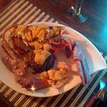 recette Homard grillé aux douces épices et à l'ananas (30 mns)