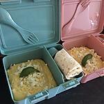 recette Polenta crémeuse au parmesan et a la ricotta