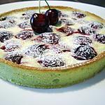 recette Tarte pistache cerises et ricotta...