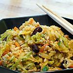recette Riz Sauté aux Oeufs et aux Légumes