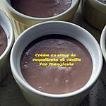 recette Crème au sirop de coquelicots et à la vanille