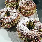 recette Paris-Brest pistache baie de Goji