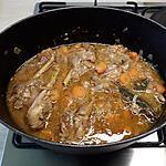 recette Fricassée de poulet au rhum vieux