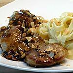 recette Filets de Porc aux Pignons et Amandes