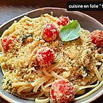 recette Pâtes au parmesan du pauvre ( ou pasta à la mollica)