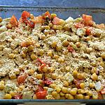 recette Gratin de pois chiches au fenouil
