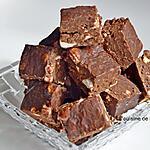 recette Praline au chocolat et marshmallow