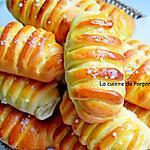 recette Petit pain à la ricotta et sa barre chocolat