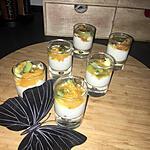 recette Verrines de yaourt au fruits