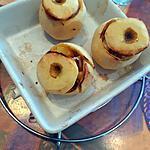 recette Pomme farcie au boudin blanc