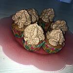 recette Muffins a la myrtilles mousse au chocolat au siphon