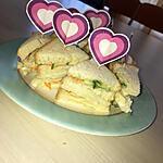 recette Minis club sandwich au concombre et au surimi
