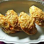 recette Mini empanadas aux champignons , fromage et ail noir