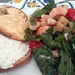 recette Salade composée aux épinards