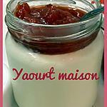 recette YAOURT MAISON