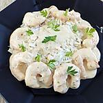 recette crevettes sauce curry vert