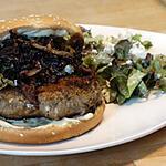 recette Burger d'Agneau à la Menthe et à la Féta