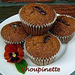 recette Muffins aux dattes et aux noix