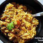 recette Risotto allégé au poulet rôti et champignons