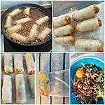 recette Rouleaux de printemps (Nems )croustillants au poulet