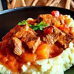 recette Bœuf au paprika de kekeli