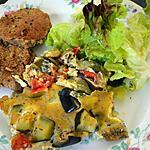 recette Gratin frais aux légumes d'été