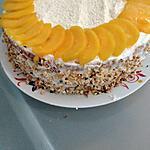recette Gâteau a la pèche