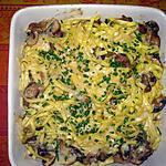 recette Tagliatelles aux champignons des bois