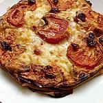 recette clafoutis tomate mozzarella