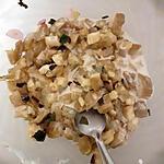 recette Salade d'aubergine