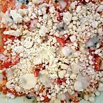recette Crumble de tomates à la fourme d'Ambert