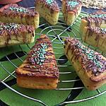 recette Parts de gâteaux individuels au kiwi