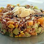 recette Tartare de Melon - Concombre à la Menthe et au Thon