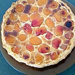 recette tarte abricots coco