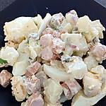 recette salade pommes de terre aux saucisses de strasbourg