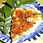 recette Quiche chou-fleur, carotte, roquette