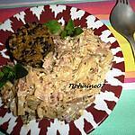 recette Fondue de blettes avec son riz et des lentilles