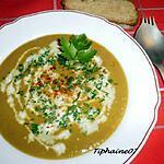 recette Potage anti-gaspi aux fanes de carottes et queues d'artichaut