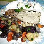 recette Poêlée de légumes à la sarladaise