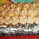 recette Délice au potimarron, chocolat blanc et tonka