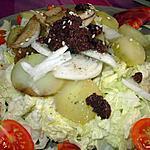 recette Salade de chou chinois au chorizo
