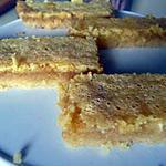 recette Barre moelleuse au citron