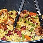 recette Jambalaya au Chorizo Grillé et aux Légumes